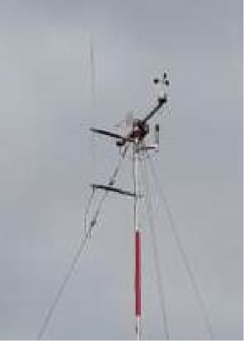 Грозозащита для мачты метеорологической М-82