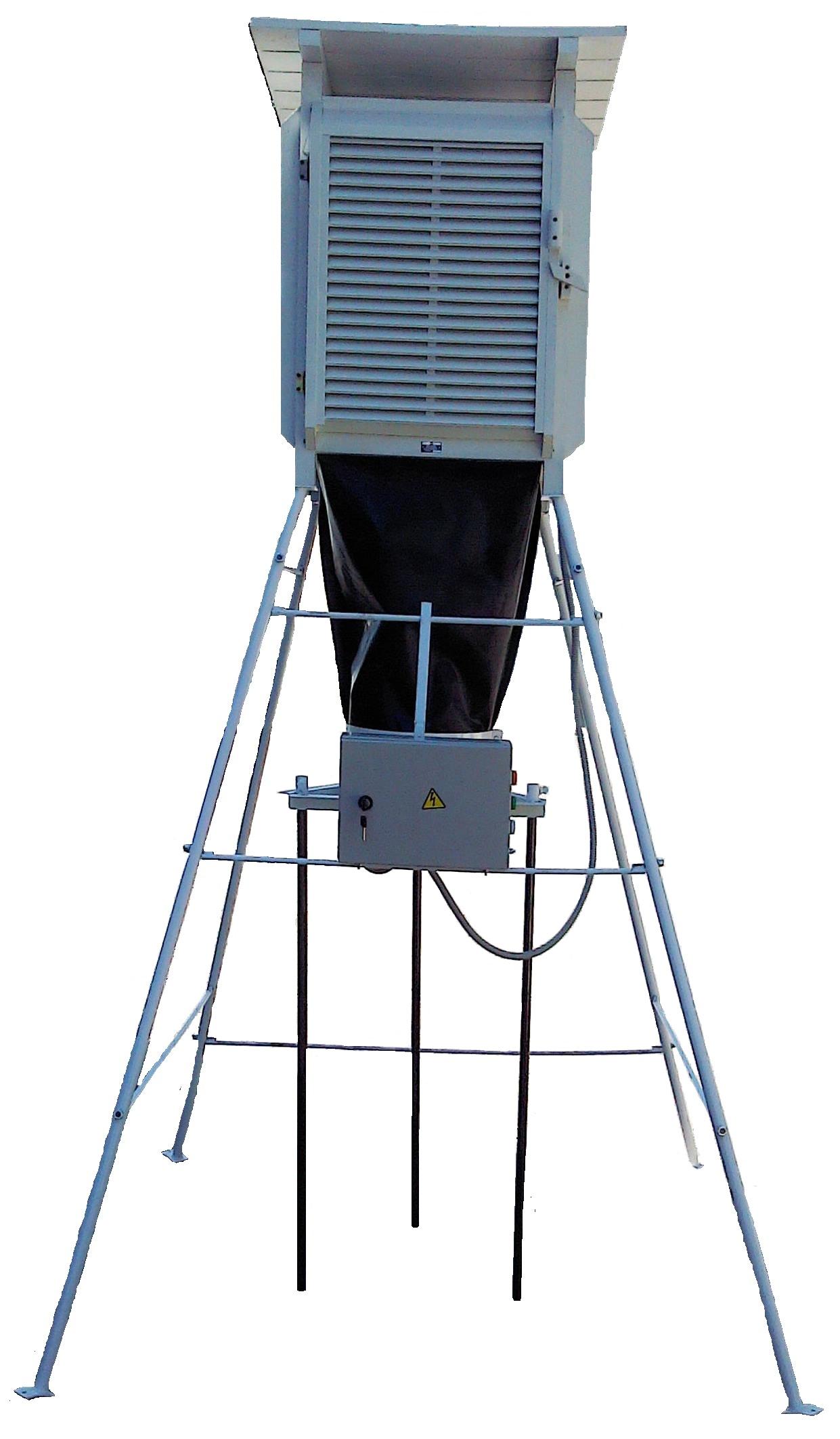 Будка аэрологическая А-51 вентилируемая (комплект)