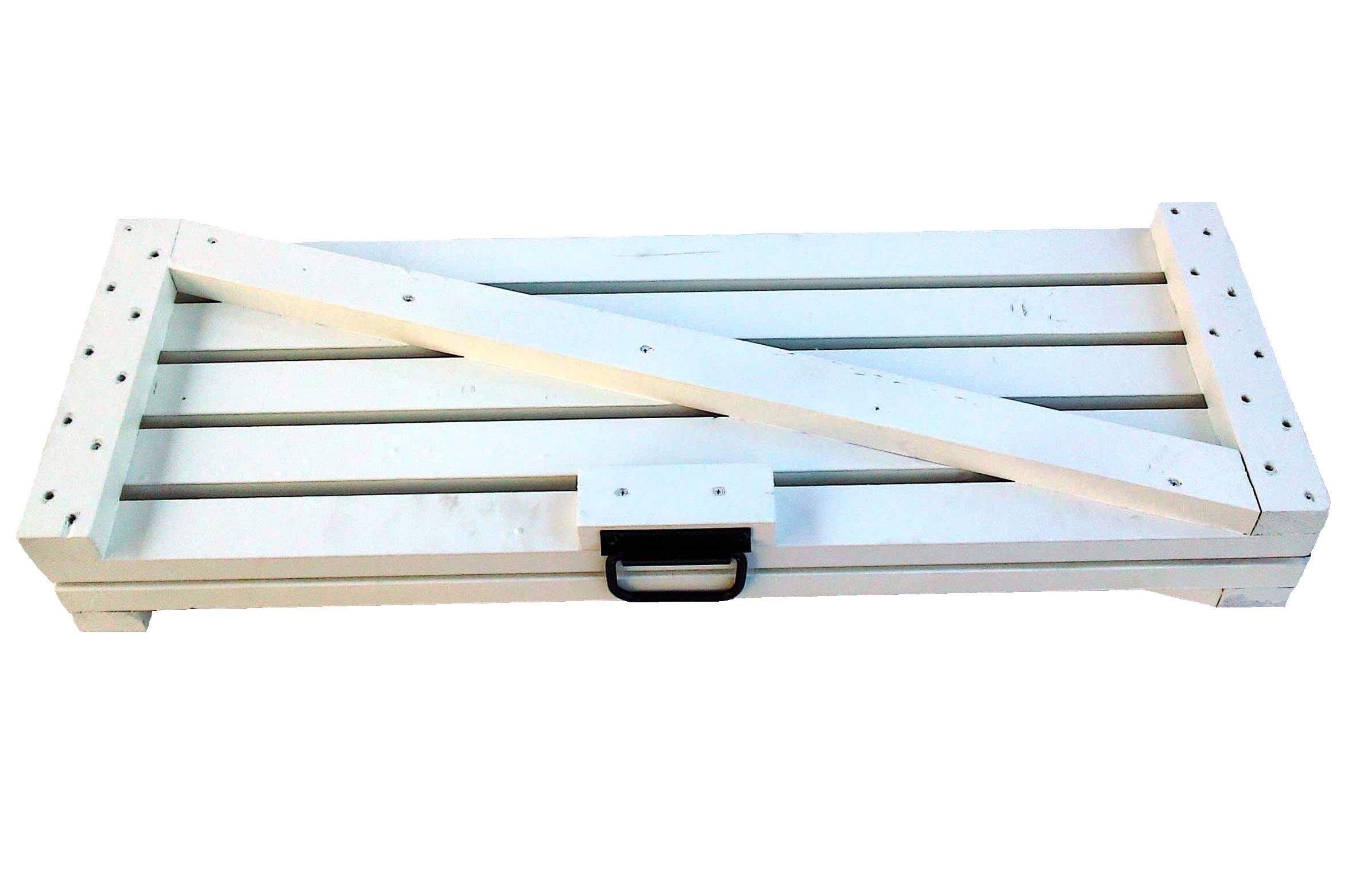 Реечный настил для установки почвенных и коленчатых термометров с установочными анкерами