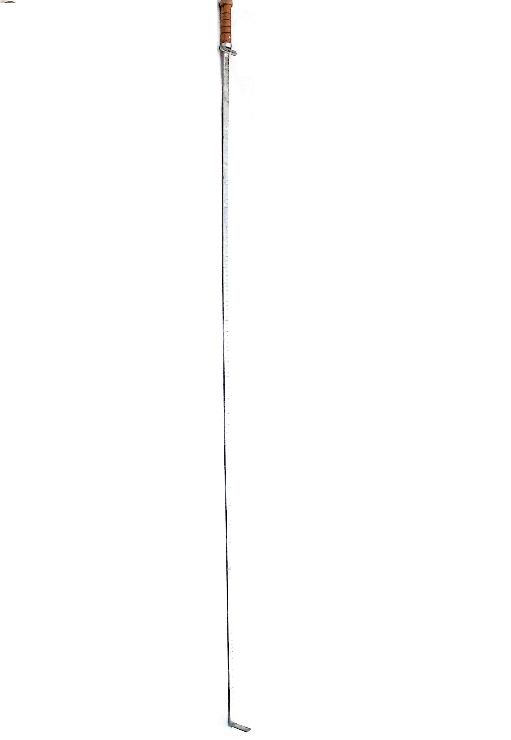 Рейка ледомерная переносная ГР-7 1,8 м.