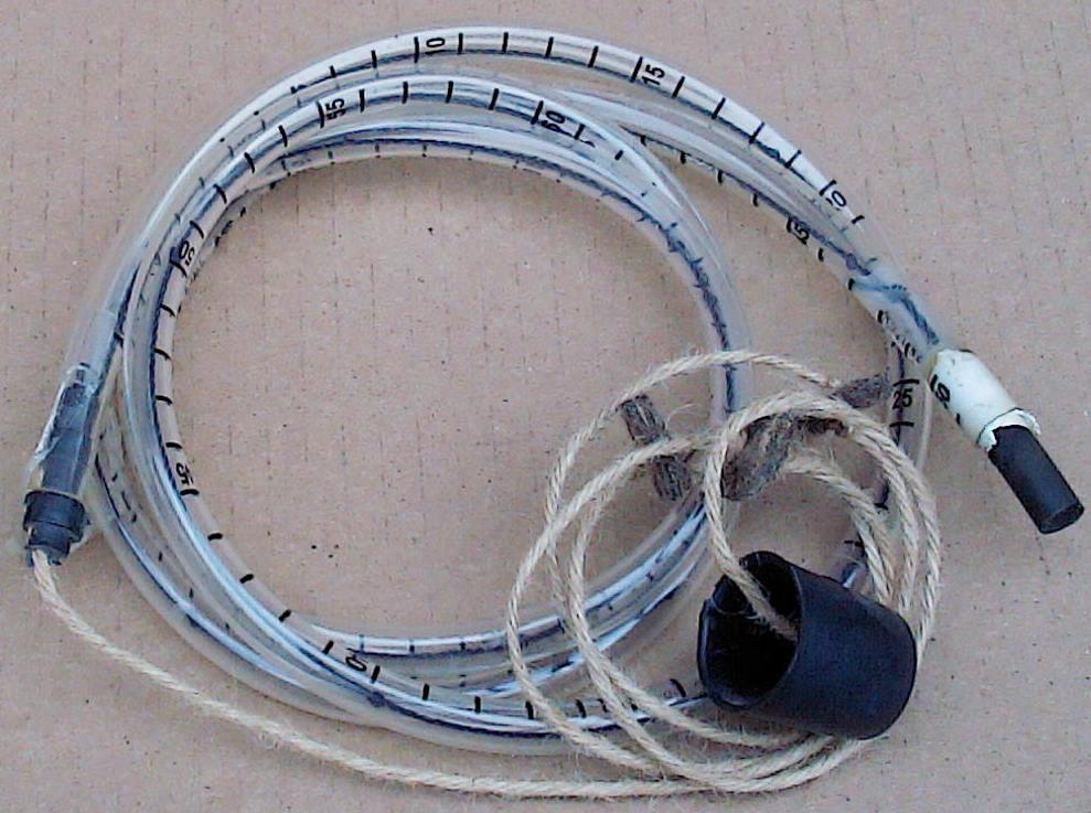 Трубка к мерзлотомеру АМ-21 с подвеской (ремкомплект)