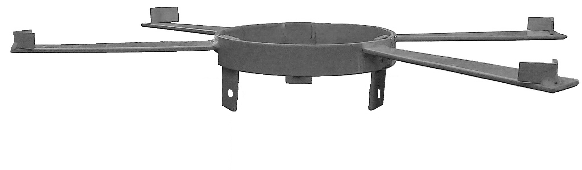 Корона для установки будки Селянинова на асбоцементную трубу